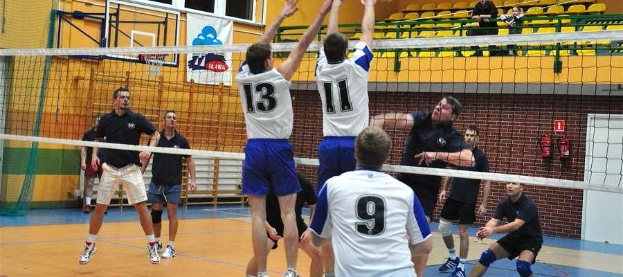 Zdjęcie jest ilustracją do artykułu (mecz Iławskiej Ligi Siatkówki Amatorskiej)