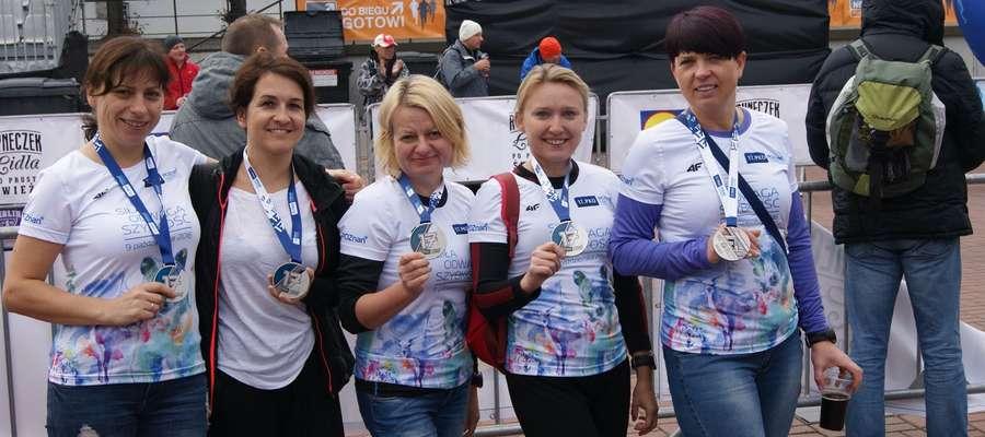 Iławianki, które ukończyły XVII PKO Poznań Maraton
