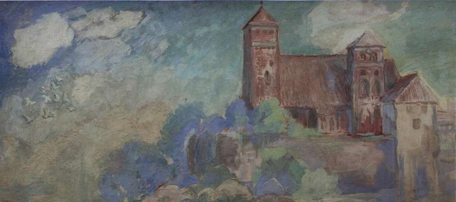 W swoich pracach Alexander Kolde wielokrotnie nawiązywał do widoków Rastenburga.
