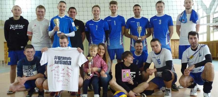 Uczestnicy turnieju siatkarskiego zagrali w sobotę dla Kordiana