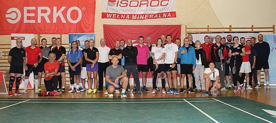 Uczestnicy VI Grand Prix WJM w badmintonie