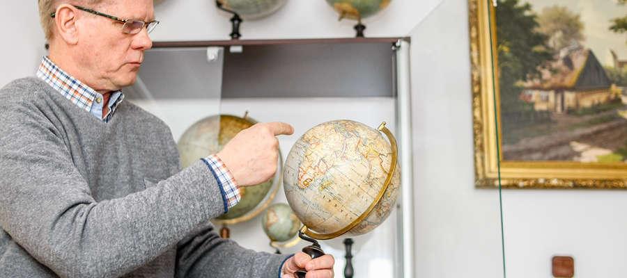 W kolekcji pana Ryszarda z Elbląga znajduje się 45 globusów - jak mówi ich właściciel są rzadko spotykane, tajemnicze oraz fascynujące