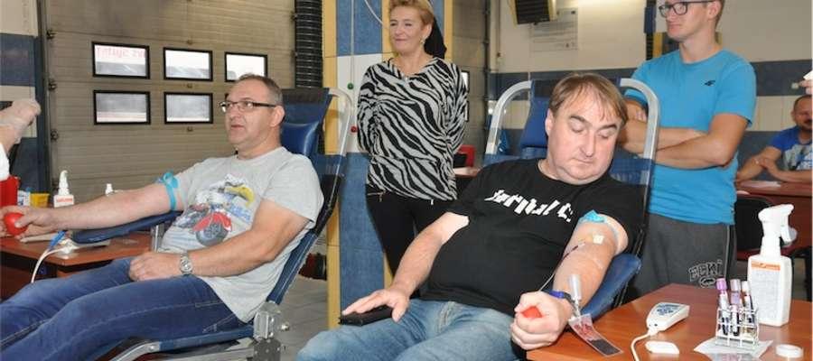 Podczas ostatniego poboru krwi w nowomiejskiej straży pożarnej