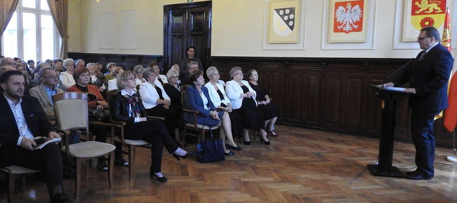 Podczas spotkania inaugurującego Nowomiejskich Dni Seniora