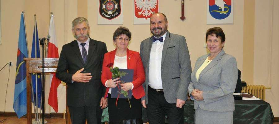 Nagrody wójta Tomasza Węgrzynowskiego dla nauczycieli