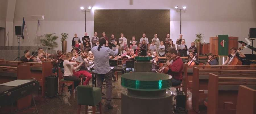 Elbląska Orkiestra Kameralna w Estonii