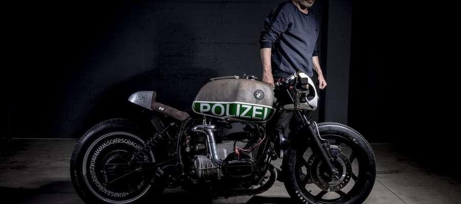 BMW, które służyło w policji...
