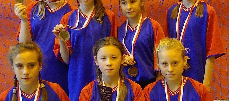 Brązowe medalistki z Godkowa