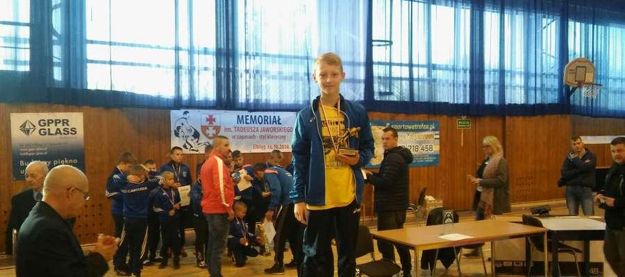 Rafał został wybrany w Białymstoku najlepszym zawodnikiem turnieju