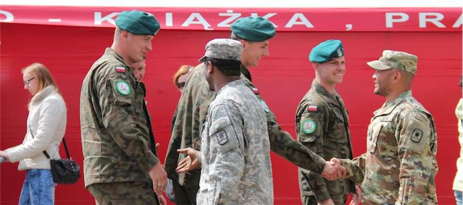 Żołnierze amerykańscy w czerwcu 2016 roku odwiedzili Giżycko. Zdjęcie jest tylko ilustracją tekstu.