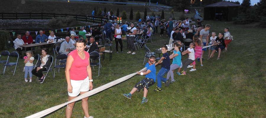 Mieszkańcy w Ostaszewie potrafią się zorganizować i zapewne impreza będzie udana