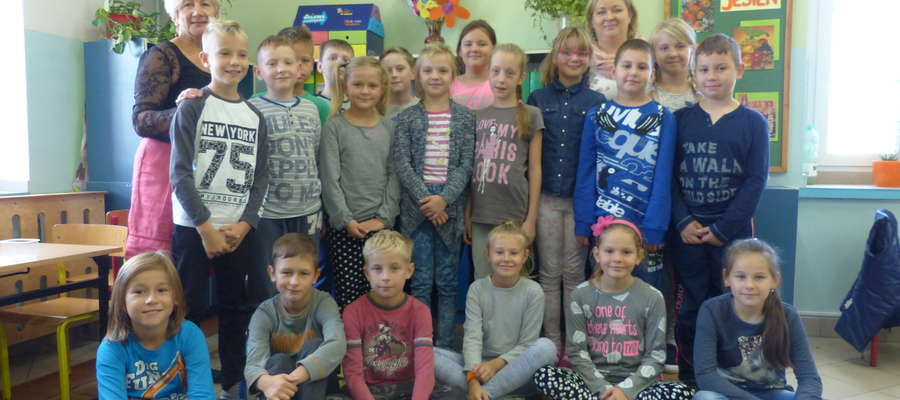 Pierwsza prelekcja odbyła się we wtorek (4. października) w Szkole Podstawowej nr 5 w klasie III a