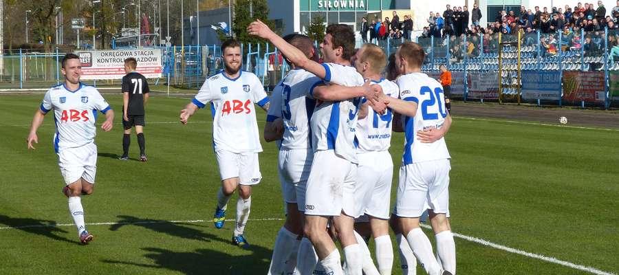 Piłkarze Jezioraka w trakcie tego sezonu już 51 razy mogli cieszyć się z goli zdobywanych w meczach ligowych