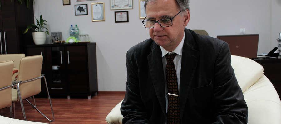 Dyrektor szpitala Sławomir Wójck oświadcza, że nie współpracuje z firmą Spełniamy Marzenia.