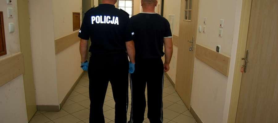 33-latek poszukiwany Europejskim Nakazem Zatrzymania ujęty przez szczycieńskich policjantów