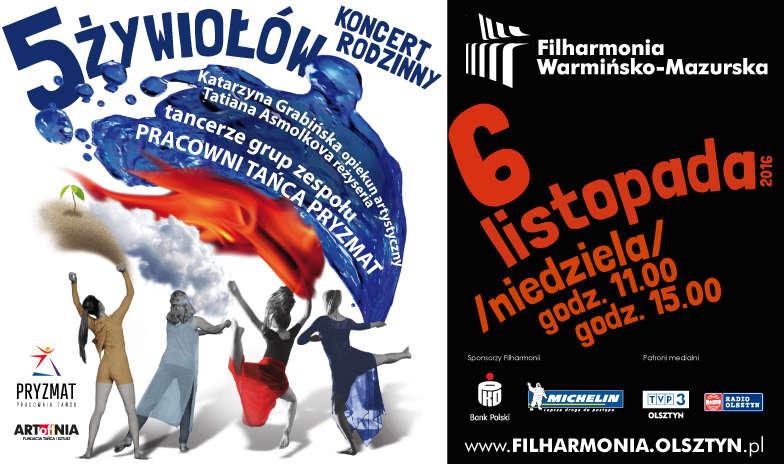 5 Żywiołów w filharmonii Warmińsko-Mazurska  - full image
