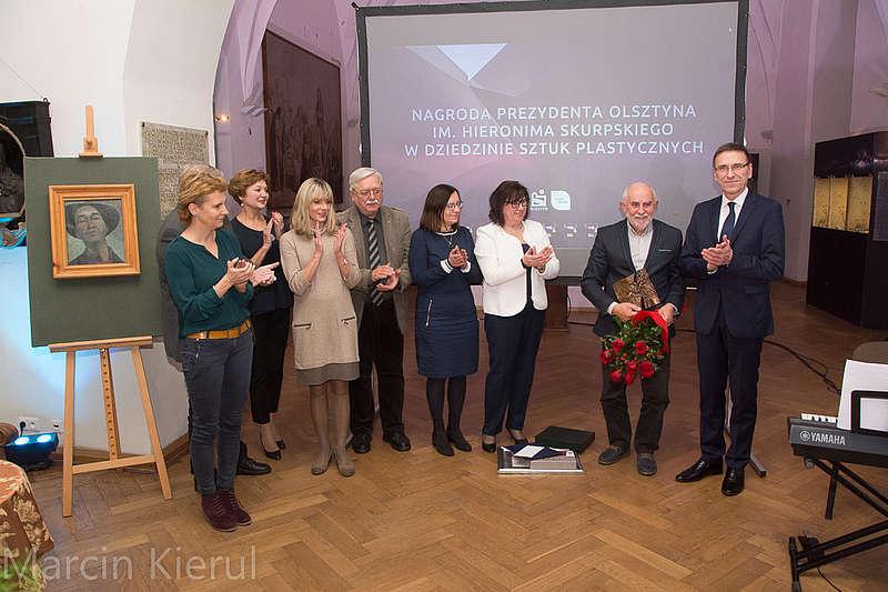 Nagroda im. Hieronima Skurpskiego przyznana. Otrzymał ją... - full image