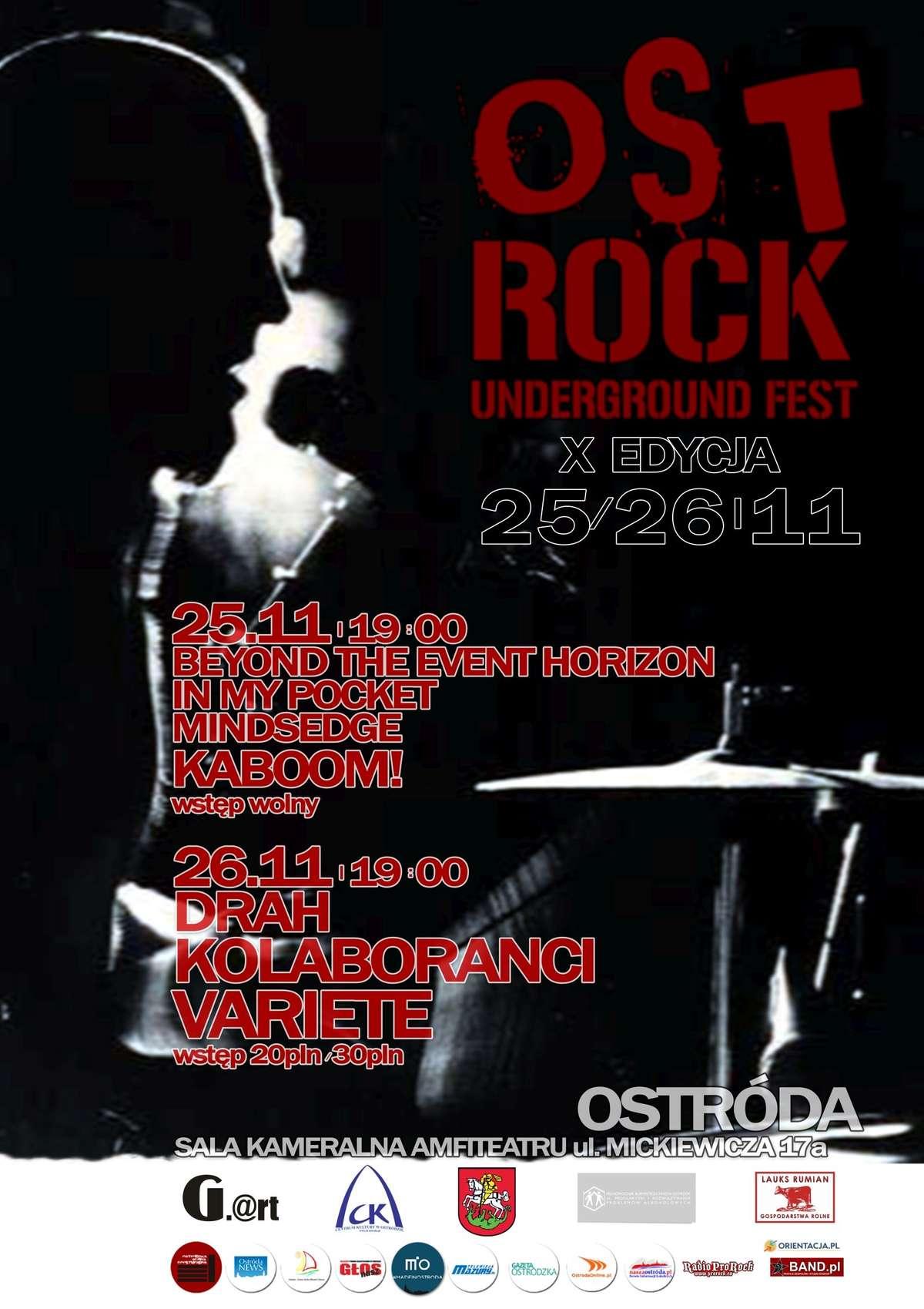 X Ost-Rock Underground Fest 2016. Święto muzyki już w weekend! - full image