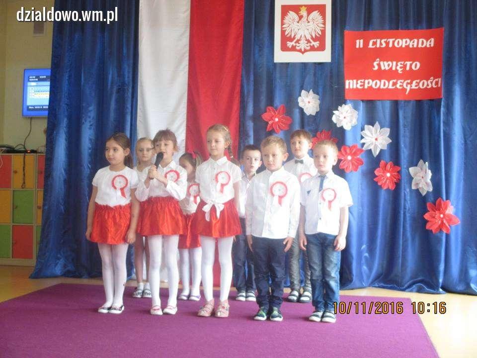 święto Niepodległości W Przedszkolu Umisia Działdowo