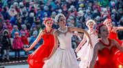 """Moskiewska rewia """"Królowa Śniegu"""" na elbląskim lodowisku [zdjęcia]"""