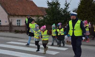 Bezpieczna droga do szkoły w gminie Wieliczki