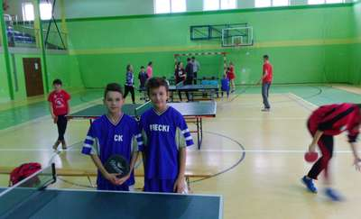 Powiatowy Drużynowy Turniej Tenisa Stołowego
