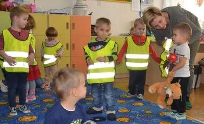 Przedszkolaki z gminy Łukta będą widoczne i bezpieczne na drodze