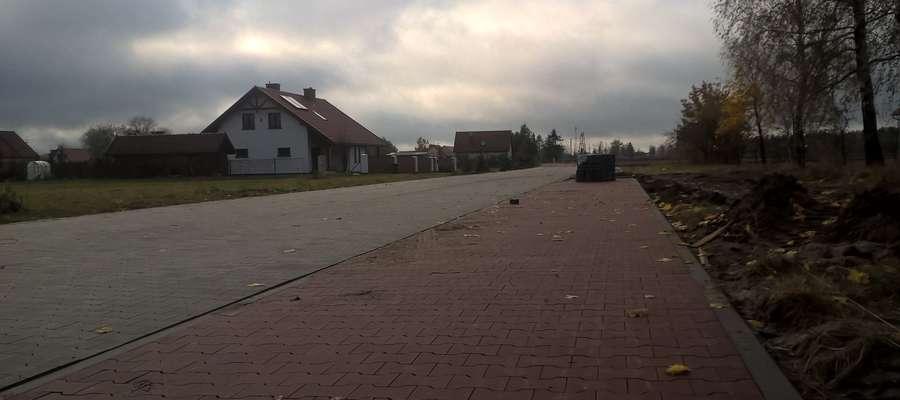 Ulica Nowa w Pieckach