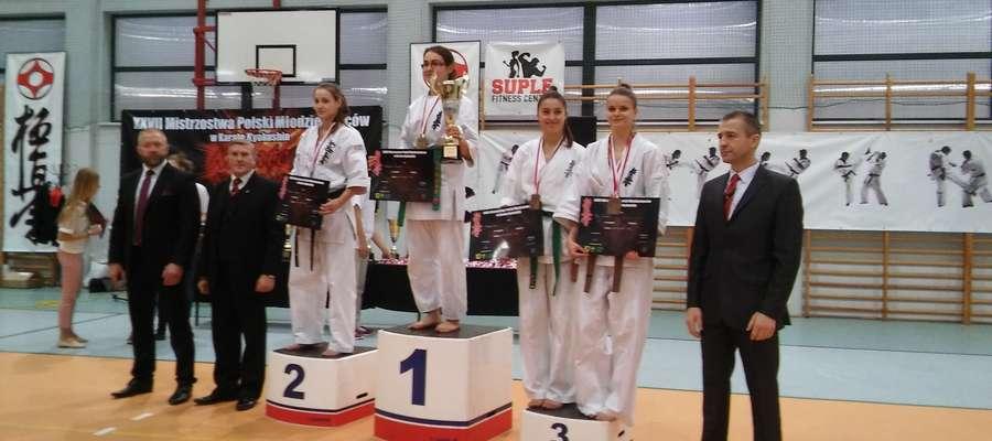 Adrianna Mrówka na drugim stopniu podium mistrzostw Polski młodzieżowców