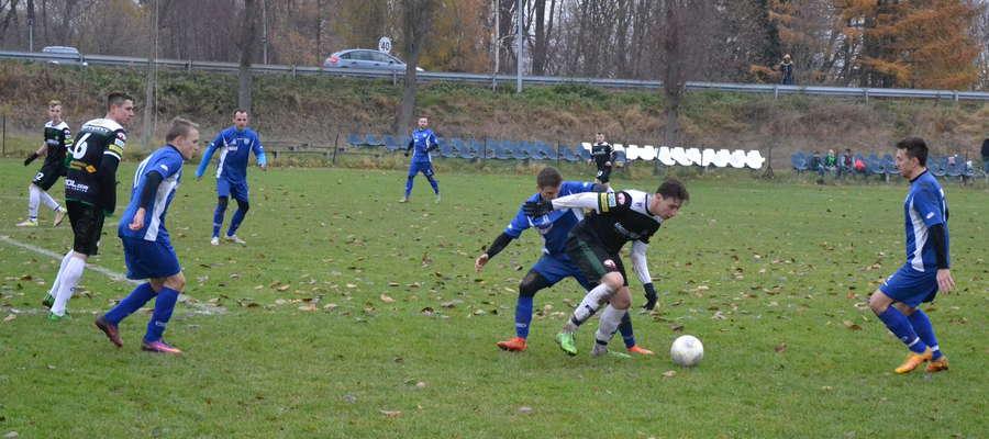 Przed tygodniem pojedynek Tęczy z GKS Stawiguda zakończył piłkarską jesień w Miłomłynie