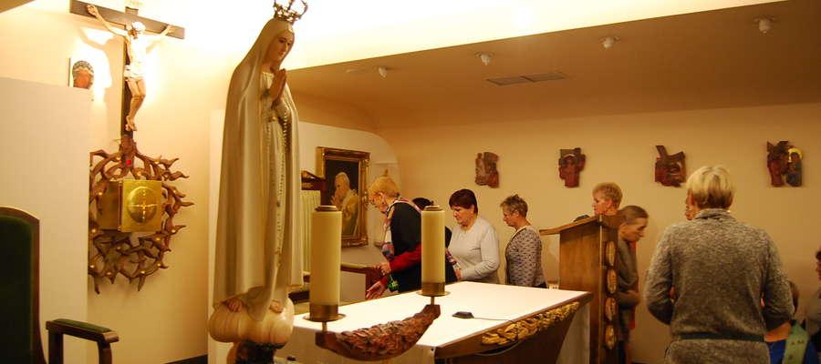 Podczas wizyty w sejmie uczestnicy wycieczki odwiedzili m.in. tamtejszą kaplicę