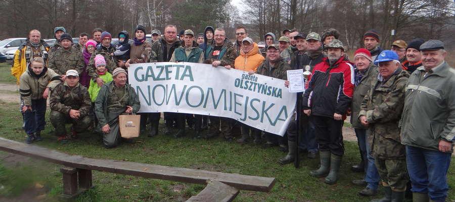 """Uczestnicy i organizatorzy ubiegłorocznych zawodów o puchar """"GN"""""""