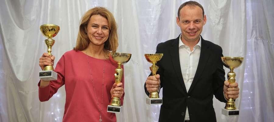 Magdalena Duhanik i Marcin Łukaszewski w Budapeszcie odebrali nagrody za występy Mistrzostwach Węgier Samochodów Terenowych w sezonie 2016