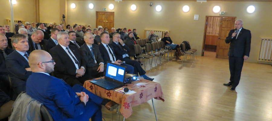 Burmistrz Ornety Ireneusz Popiel spotkał się  z mieszkańcami aby podsumować inwestycje roku 2016 i podzielić się planami na kolejne lata