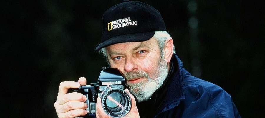 Tadeusz Filipowicz kochał fotografowanie i Lidzbark Warmiński, który uwieczniał nieodłącznym aparatem