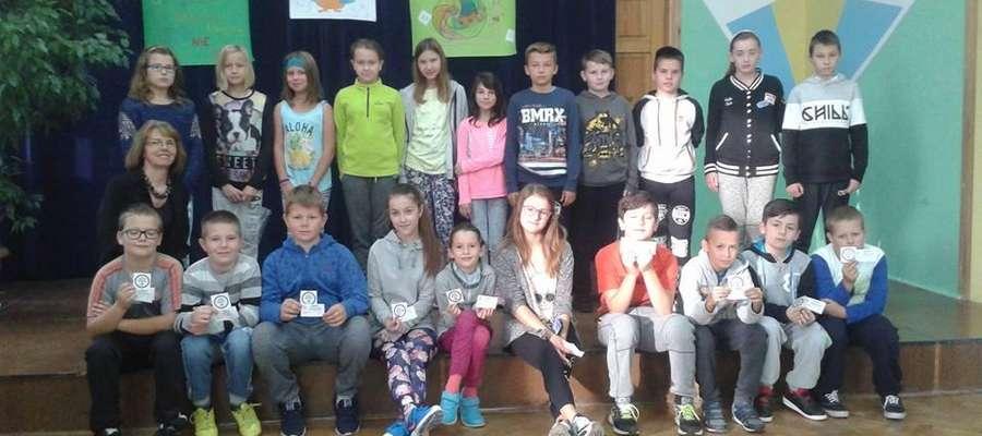 Szkoła Podstawowa i Gimnazjum w Lubominie włączyły się w Światowy Dzień Tabliczki Mnożenia