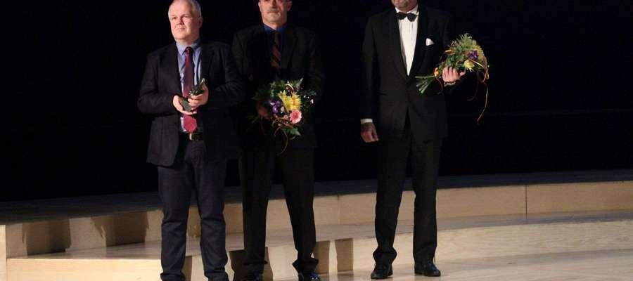 W gronie laureatów znalazł się Zbigniew Pietkiewicz, radny z Fromborka (w środku)