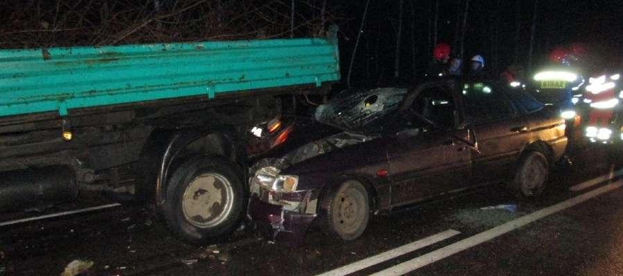 Wypadek w Opaleńcu