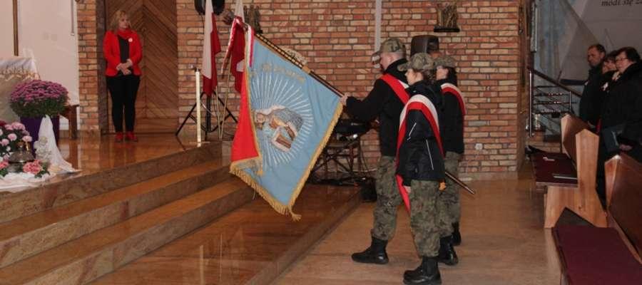Obchody odzyskania Niepodległości w kościele w Wilkasach