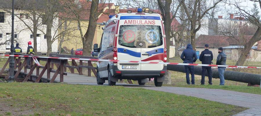 Policja pod nadzorem prokuratora wyjaśnia okoliczności tej tragedii
