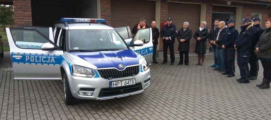 Skoda Yeti reszelskich policjantów z pewnością sprawdzi się na drogach gminy.