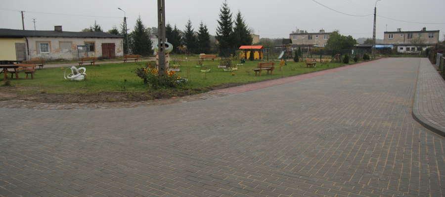 W Sopkach-Osadzie zostało zagospodarowane centrum miejscowości