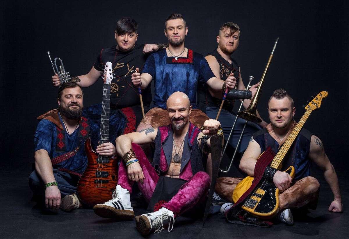 Energetyczny kozacki rock w AnderGrancie. Na scenie Haydamaky! - full image