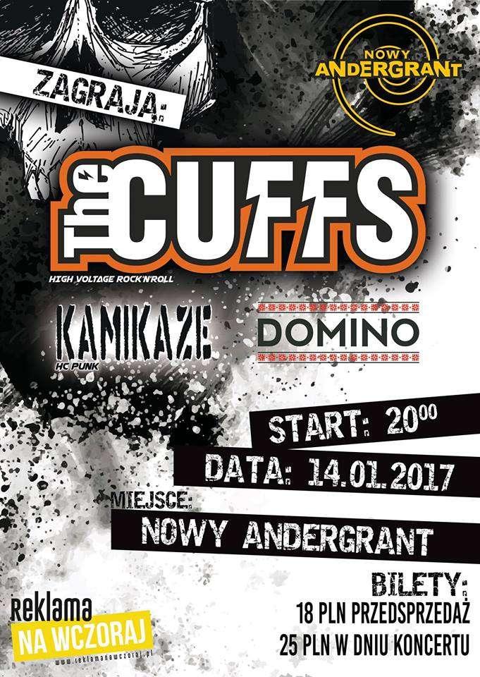 Kamikaze, The Cuffs i Domino wystąpią w Anderze - full image