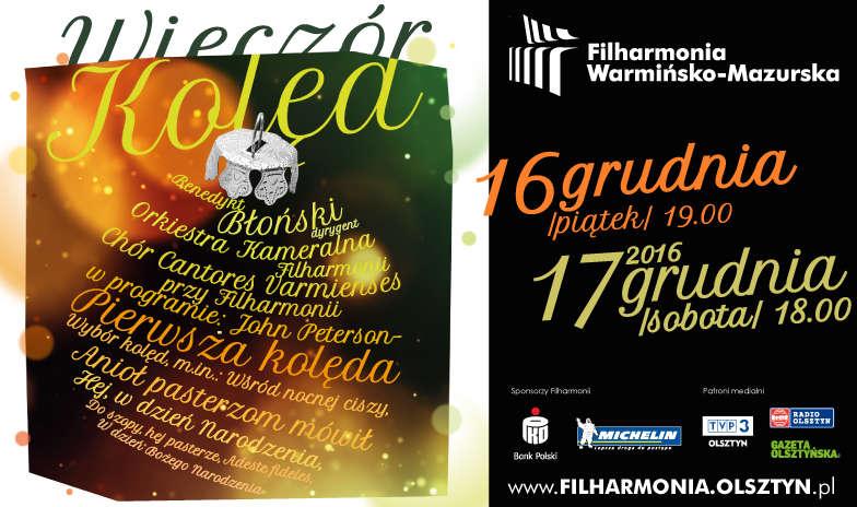 Wieczór Kolęd w Filharmonii Warmińsko-Mazurskiej - full image