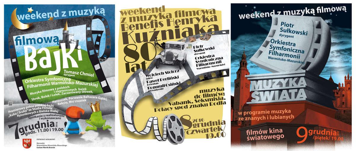 Muzyka filmowa w Olsztynie. Trzy dni koncertów! - full image