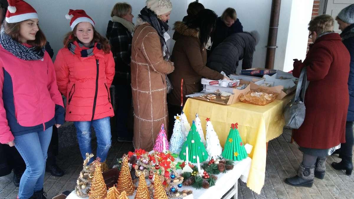 Podczas świątecznego kiermaszu w Tereszewie