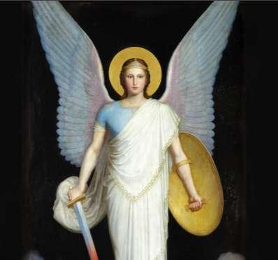 Cóż jest świat... szachownica. Angelusy i demony w sztuce chrześcijańskiej - full image