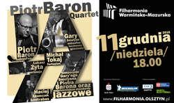 Piotr Baron Quartet w Olsztynie