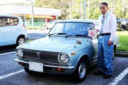 Pan Shougo i jego toyota corolla